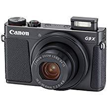 Canon PowerShot G9 X Mark II Compact Digital Camera w/ 1 Inch Sensor and 3inch LCD - Wi-Fi, NFC, & Bluetooth Enabled (Black)