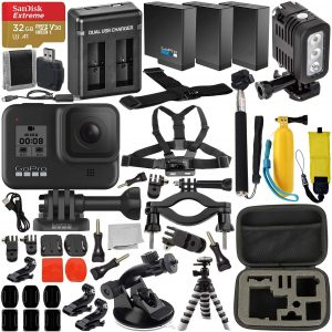 GoPro Hero 8 Bundle with accessories - available on Amazon